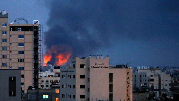 اسرائیل، غزه را بمباران کرد