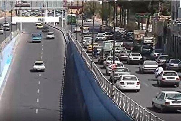 وضعیت ترافیکی جادهها در شب عید