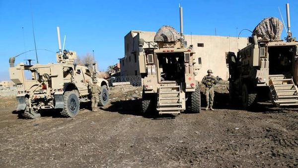 خروج سربازان آمریکایی از شرق سوریه