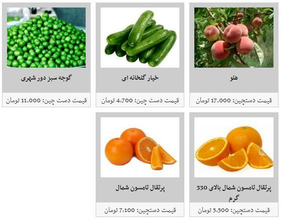 نرخ میوه های نوبرانه در میادین میوه و تره بار چقدر است؟
