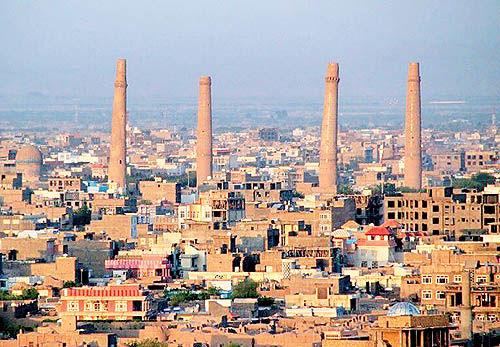 جایگاه مدنیت در هرات