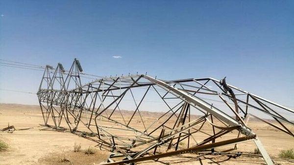 انفجار بمب در خطوط انتقال برق عراق
