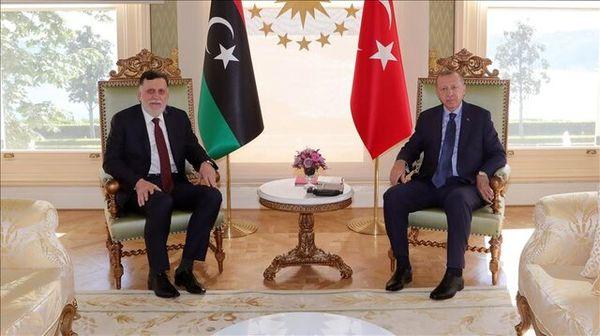 نخست وزیر لیبی به دیدار اردوغان رفت