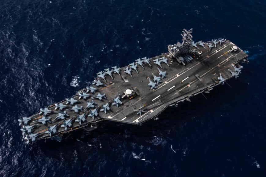 آمریکا بار دیگر در دریای جنوبی چین رزمایش برگزار کرد