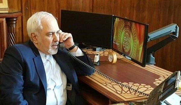 روایت توئیتری ظریف از گفت و گو با وزیر امور خارجه انگلیس