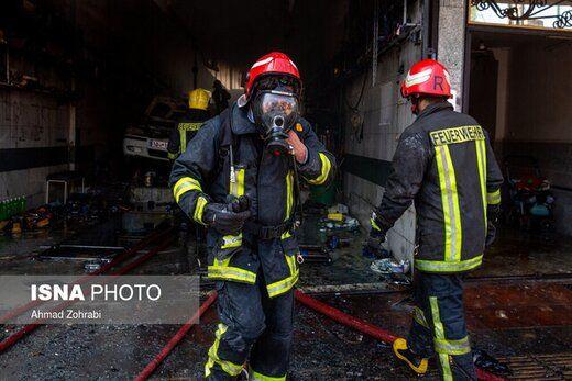 آتشسوزی مرگبار در کارگاه مبل سازی