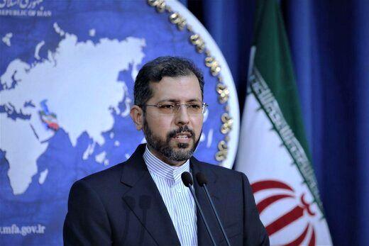 سخنگوی وزارتخارجه ایران: آمریکا معتاد به تحریم است/  بر سر امنیت ملی خود مصالحه نمیکنیم