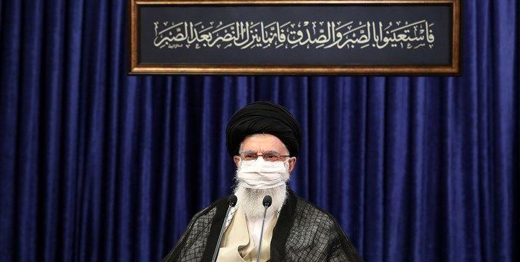 پیروزی در پی صبر نصیب میشود/ پیام حدیث نصب شده در محل سخنرانی رهبر انقلاب