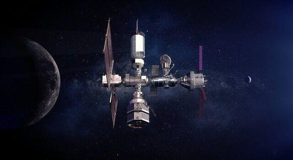 انتشار تصاویر از ایستگاه فضایی دروازه ماه از سوی ناسا