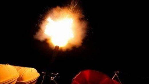 تیراندازی شبانه ارتش و سپاه به اهداف هوایی دشمن
