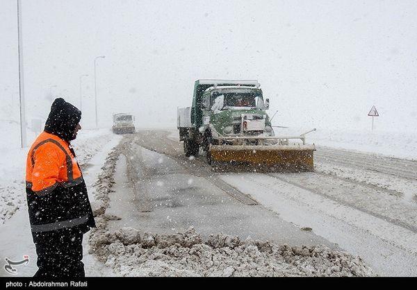 هشدار بارش برف و باران در ۲۵ استان کشور