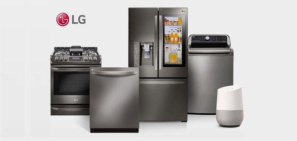 بررسی قیمت ماشین لباسشویی و ماشین ظرفشویی ال جی