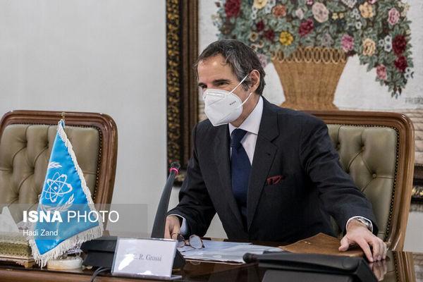 ارزیابی گروسی از توافق موقت آژانس با ایران