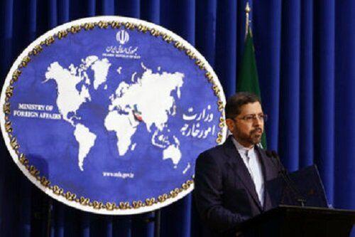 خطیب زاده: ایران طرح گام به گام را دریافت نکرده