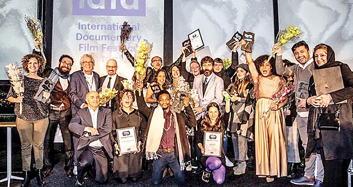 هتتریک مستندسازان ایرانی در ایدفا