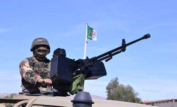هشدار به صهیونیستها، رزمایش ارتش الجزایر در مرز مغرب