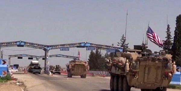 حرکت کاروان لجستیک آمریکا از عراق به سوریه
