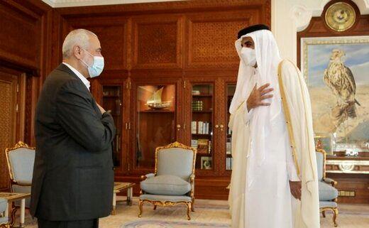 جزئیات دیدار هنیه با امیر قطر