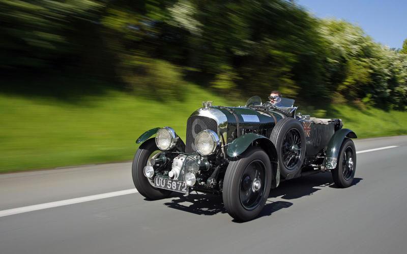 خودروی قدیمی Bentley Blower ۴.۵ لیتری