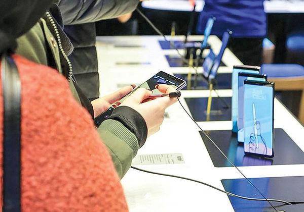 کاهش 13 درصدی فروش موبایل در جهان