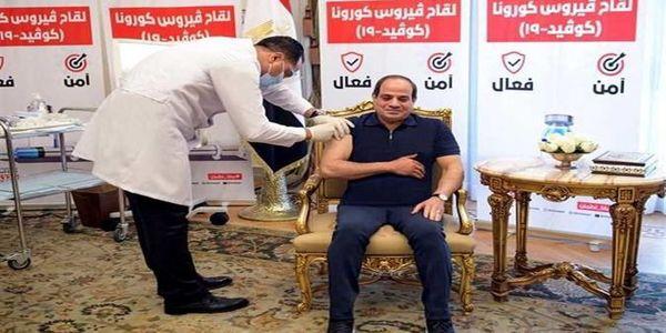 عکس تزریق واکسن کرونا به آقای رئیس جمهور جنجال برانگیز شد