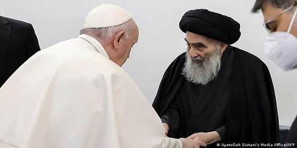 واکنشهای جهانی به ملاقات پاپ و آیتالله سیستانی