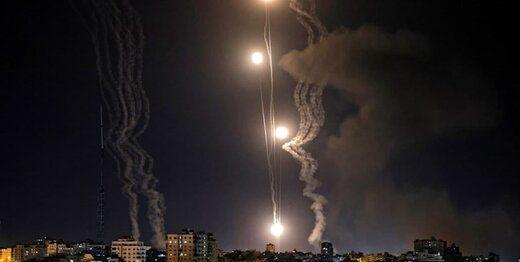 حمله موشکی به یک پایگاه هوایی در اسرائیل