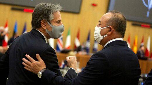 وزیرخارجه آمریکا با چاوش اوغلو رایزنی کرد