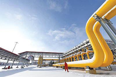 احداث 7700 مایل خط انتقال گاز طبیعی