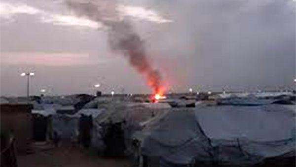 27 کشته و زخمی در پی آتش سوزی در اردوگاهی در سوریه