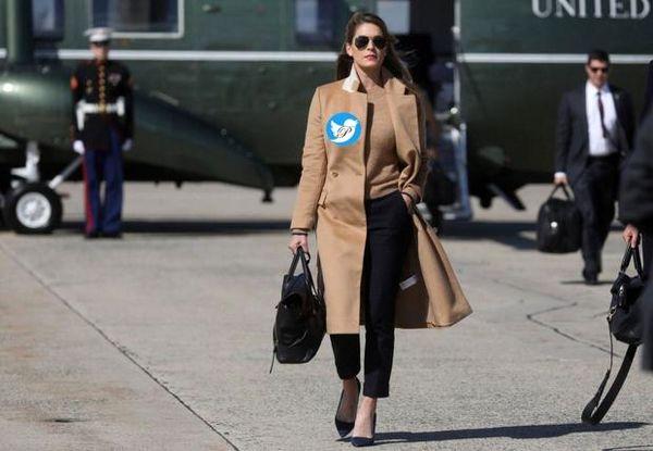زنی که به ترامپ و همسرش کرونا داد+عکس