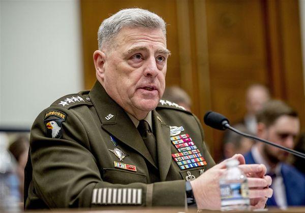 دیدار رییس ستاد مشترک ارتش آمریکا با نمایندگان طالبان