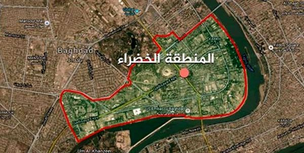اصابت راکت به اطراف سفارت آمریکا در بغداد