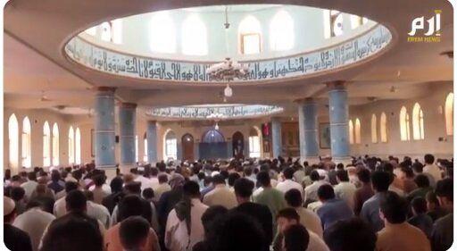 اولین نماز جمعه طالبان در افغانستان+تصاویر