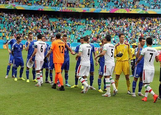 دیدار تیمهای ایران و بوسنی بدون حضور تماشاگران