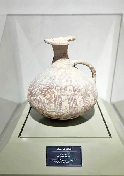 ٢۵ شیء تاریخی هزار ساله در موزه جزیره کیش به نمایش درآمد