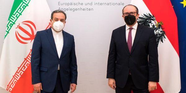 دیدار  و رایزنی عراقچی با وزیر خارجه اتریش
