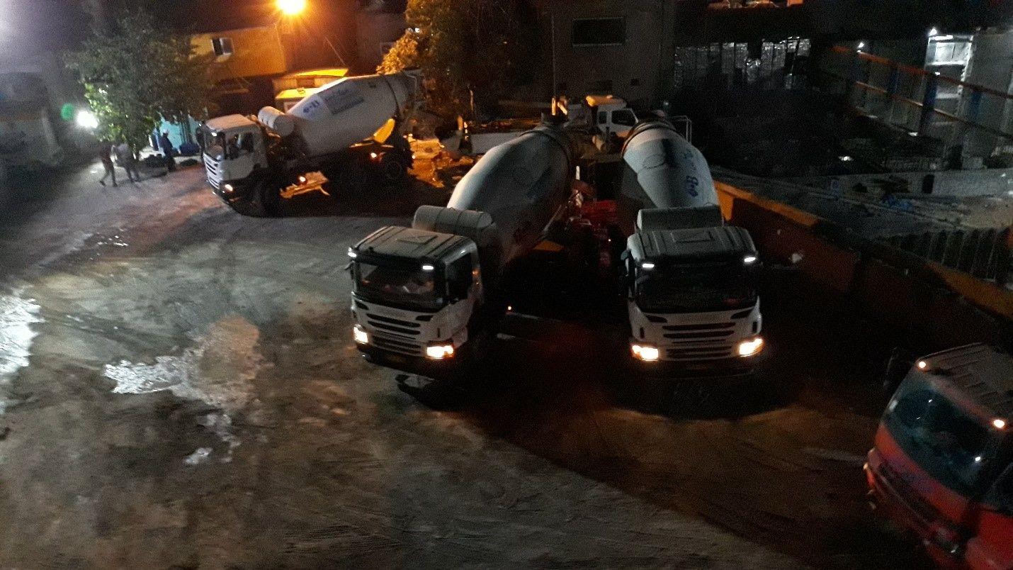 تردد میکسرهای بتن در شهر تهران در طول روز ممکن شد