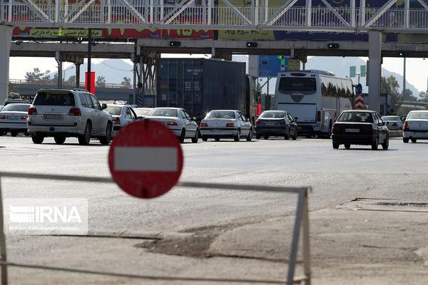 جاده خرمآباد - بروجرد بسته می شود