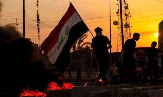 تجمع معترضان عراقی در پی قطعی برق در خیابانها