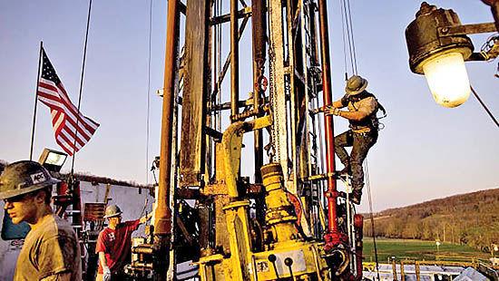 چشمانداز خاکستری نفت شیل