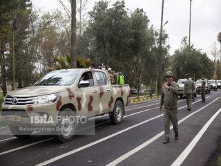 رزمایش ارتش برای مهارکرونا در شیراز