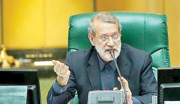 واکنش تند لاریجانی به هتاکی علیه مجلس