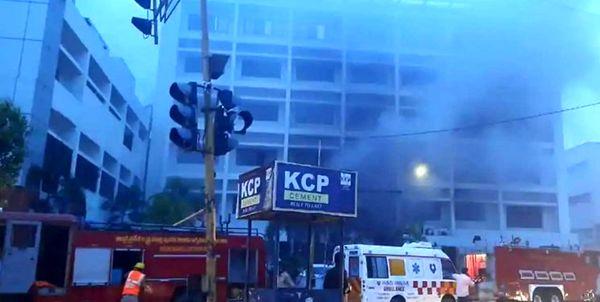 مرگ 13 کرونایی به دلیل آتشسوزی در یک بیمارستان!