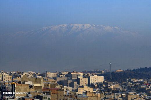 هوای پایتخت همچنان آلوده است