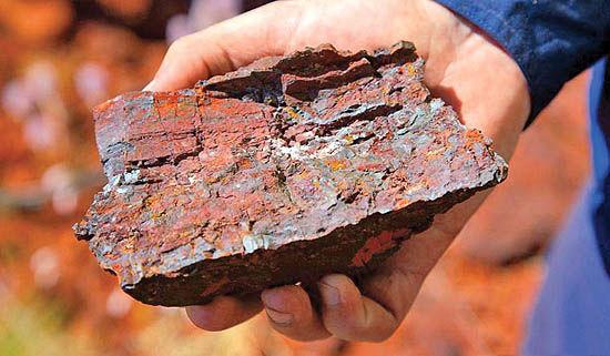 دستانداز عوارض برای صادرات سنگآهن