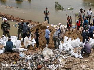 امدادرسانی جوانان لبنانی به مناطق سیلزده خوزستان