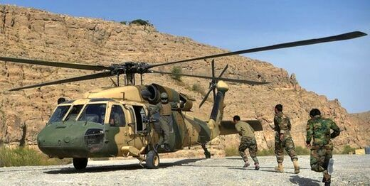 عکسی ازمحل نگهداری خلبانان متواری افغانستان در ازبکستان