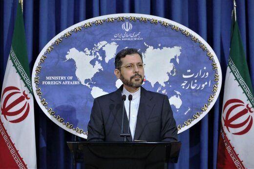 واکنش سخنگوی وزارت خارجه به توییت مورگان اورتگاس