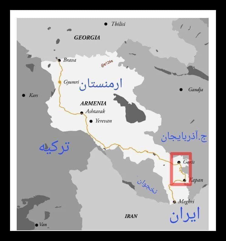 نقطه اختلاف ایران و جمهوری آذربایجان کجاست؟/عکس
